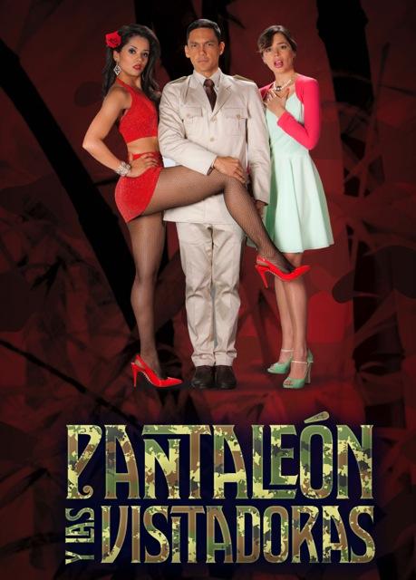 PANTALEON Y LAS VISITADORAS FONDO ROJO